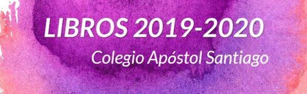 Libros 2019-2020, información y reserva anticipada