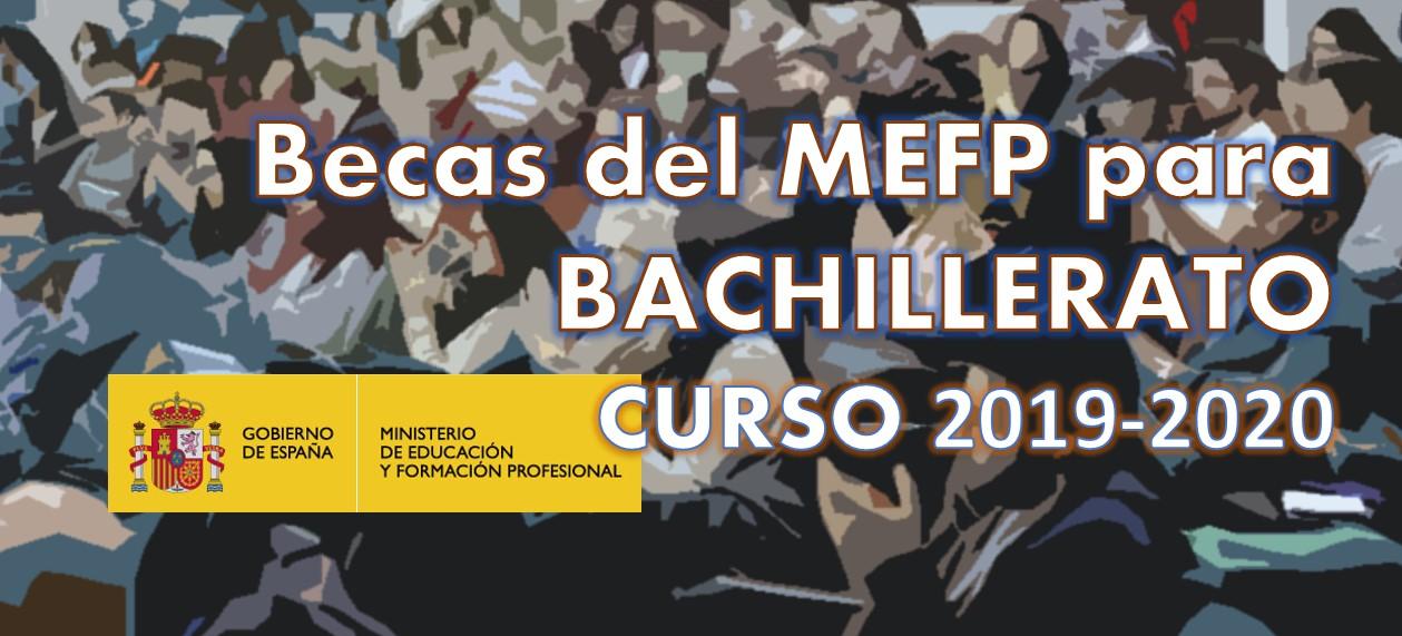 Becas MEC para Bachillerato