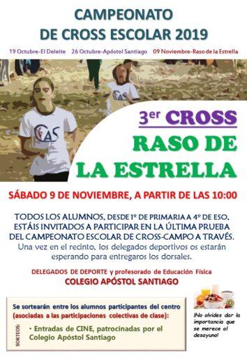 "3ª jornada Cross escolar, ""Raso de la Estrella"""