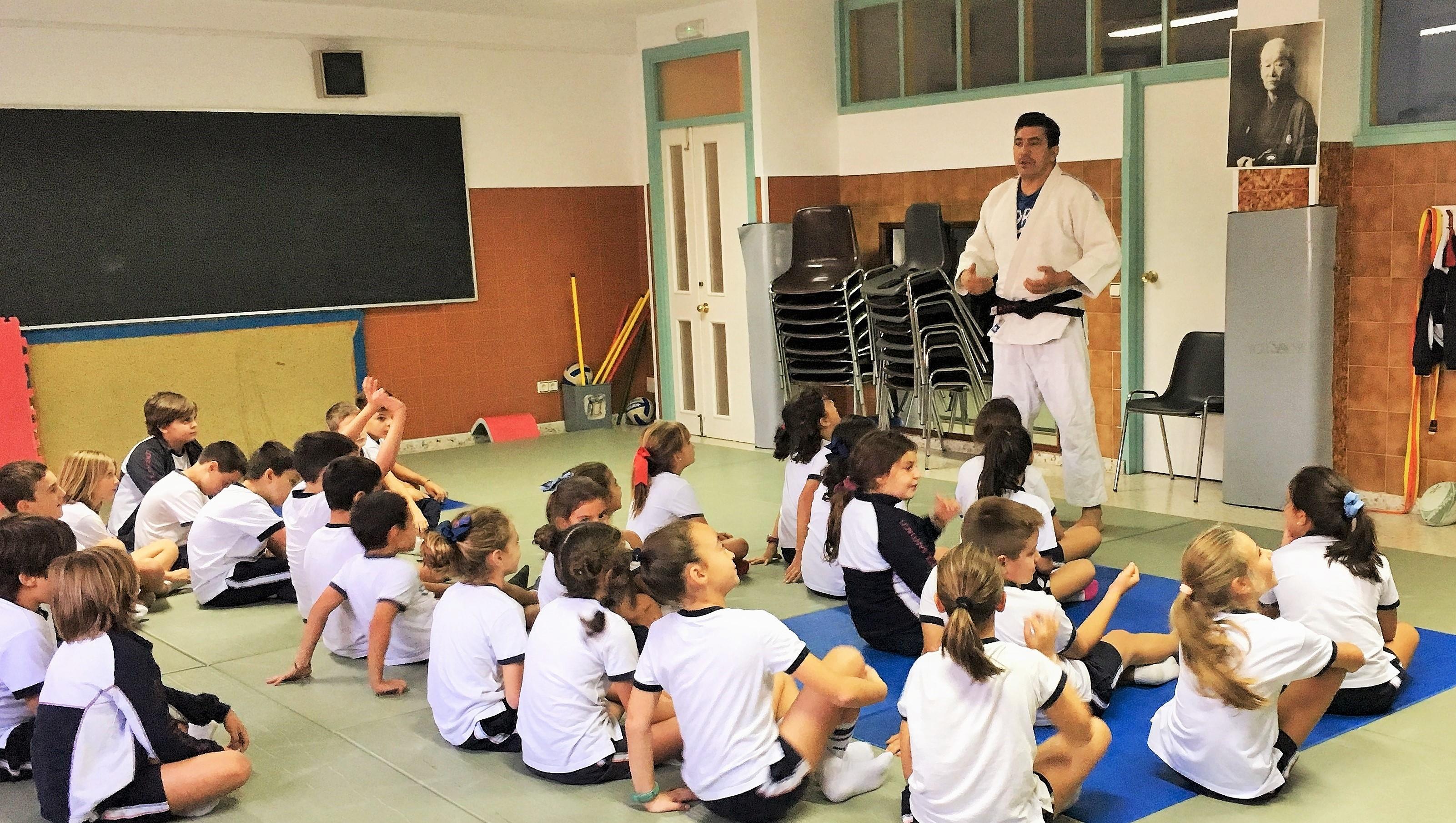 Experiencias de judo en el Colegio