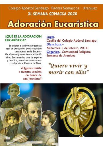 Adoración Eucarística en honor a san Jerónimo