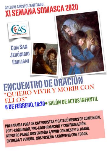 Encuentro de oración con san Jerónimo Emiliani (catequesis)
