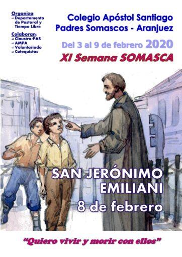 """XI Semana Somasca """"Quiero vivir y morir con ellos"""""""
