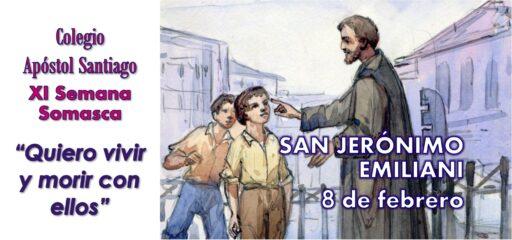 Celebración de san Jerónimo en el centro