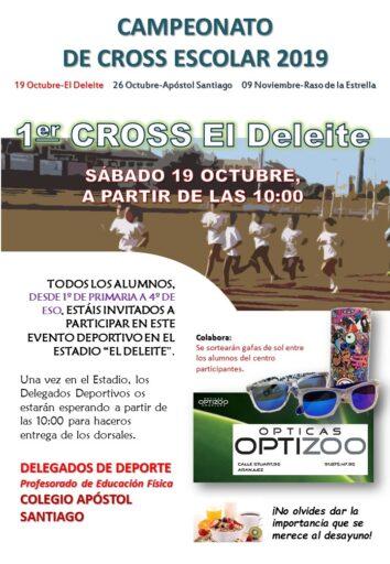 """1ª jornada Cross escolar, """"El Deleite"""" (Salesianos Loyola)"""