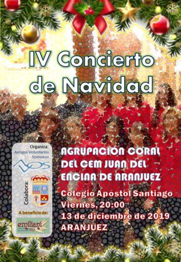 Concierto de Navidad, Agrupación Coral C.E.M. Juan del Encina, Aranjuez