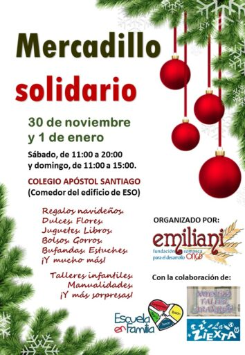 Mercadillo ONGD Emiliani
