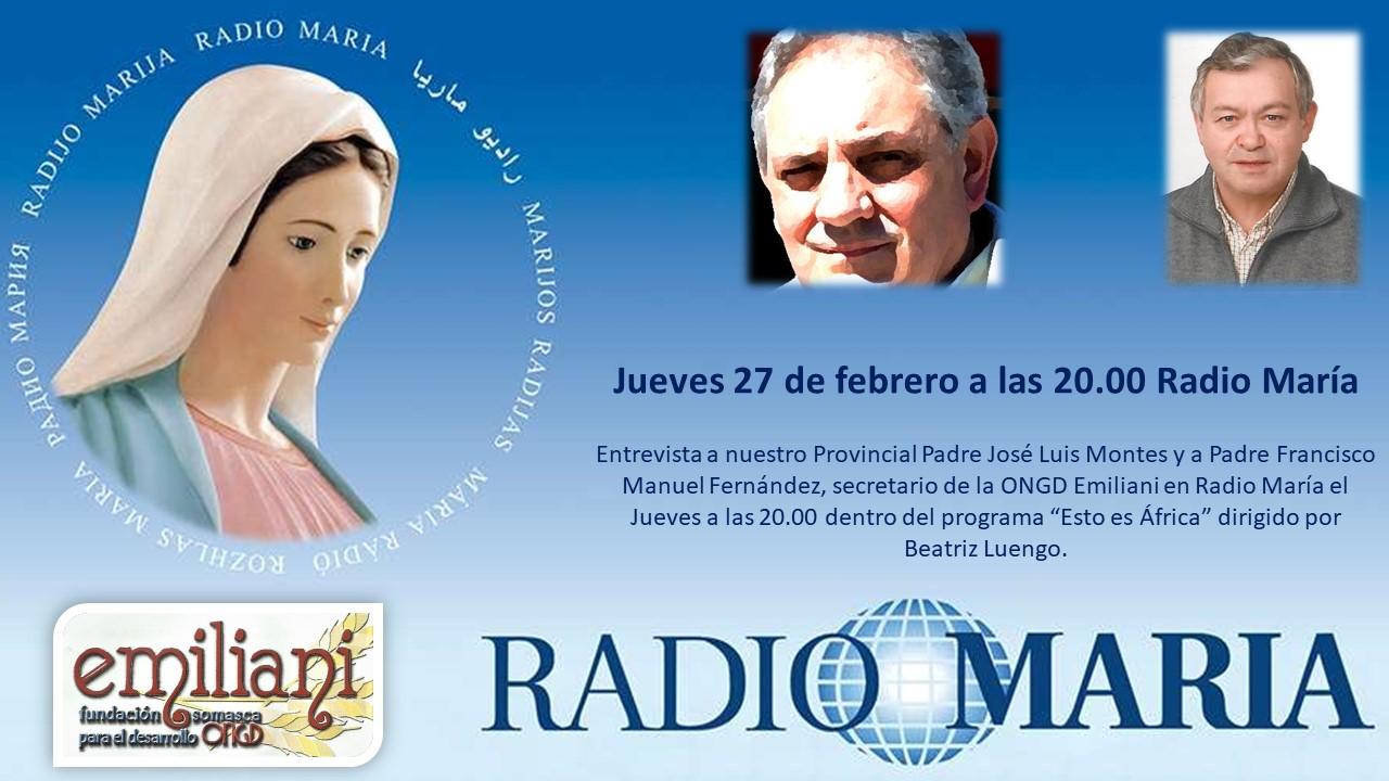 Entrevista Radio María ONGD Emiliani