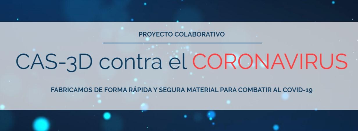 CAS-3D contra el coronavirus en los medios de comunicación