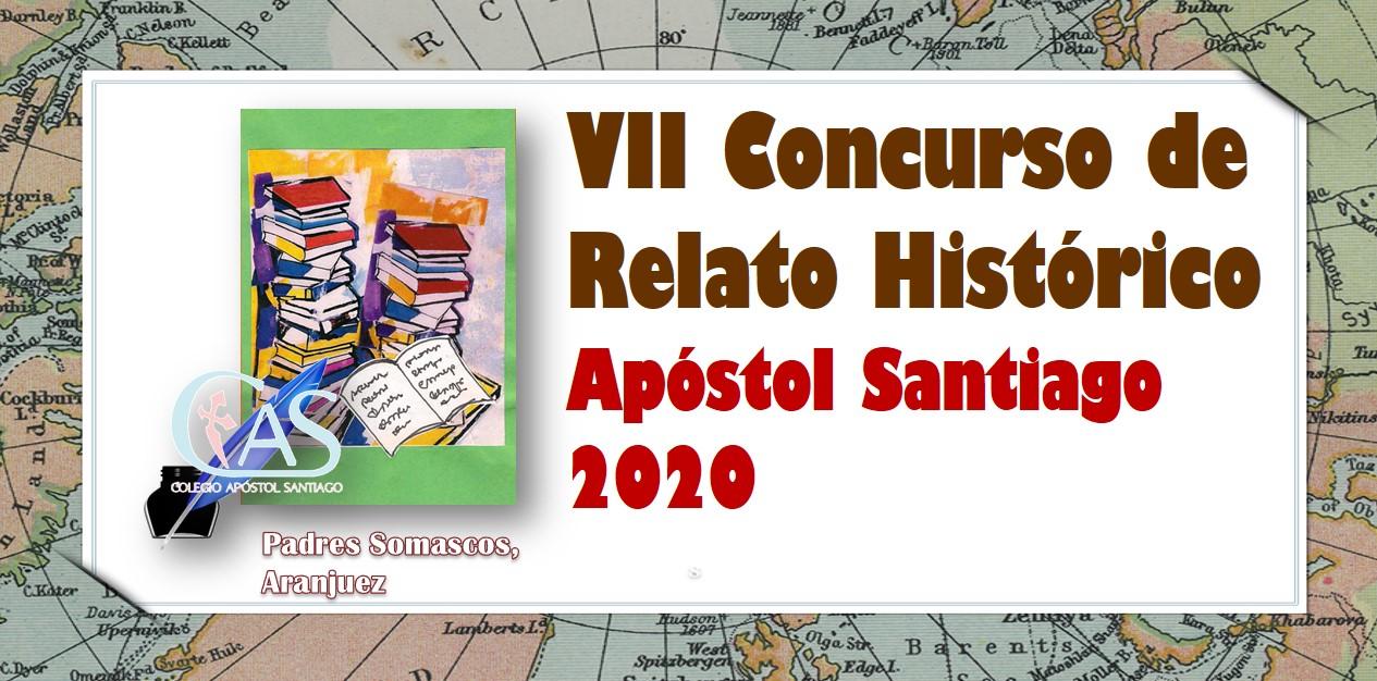 Felicitamos a los ganadores del VII Concurso de Relato Histórico Apóstol Santiago 2020