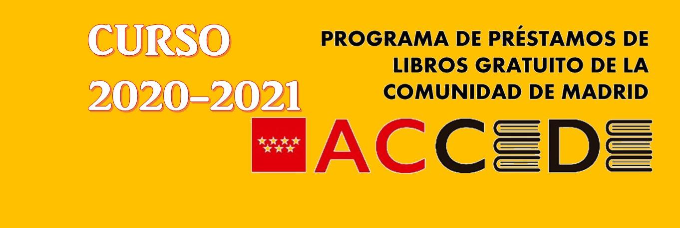 Programa ACCEDE 20-21. Entrega de libros 19-20