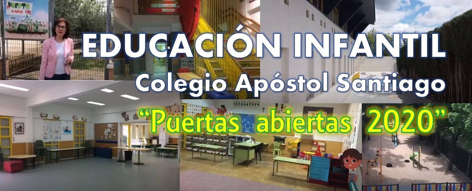 "Infantil: ""puertas abiertas 2020"""