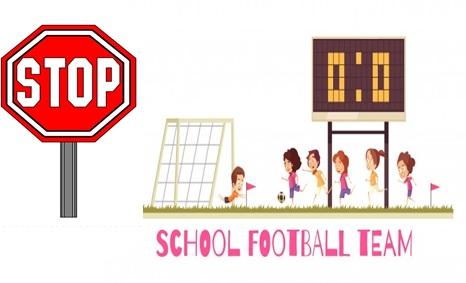 Suspensión definitiva de todas las actividades deportivas escolares