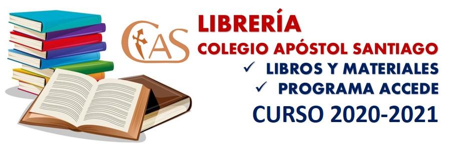 LIBROS 2020-2021. Librería, reserva anticipada e información del Programa ACCEDE