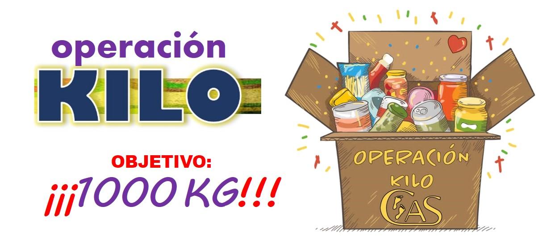 Comenzamos la campaña Operación Kilo 2020