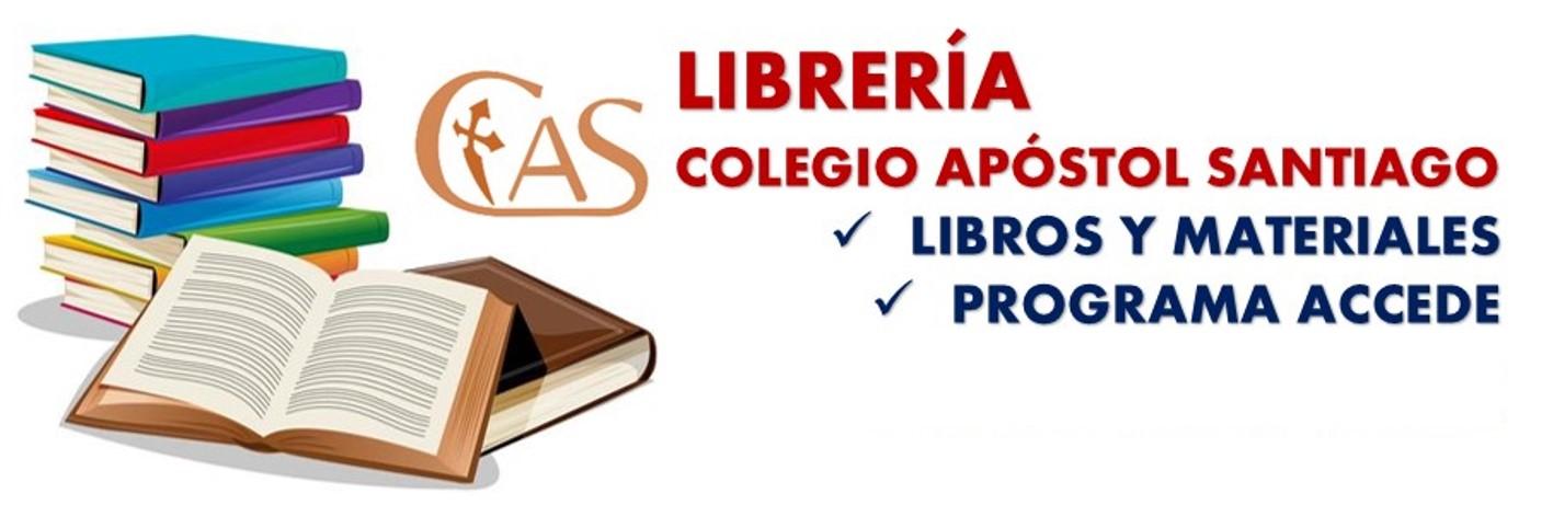 Libros de texto 2021-2022. Librería del Colegio Apóstol Santiago.