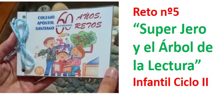 "3º de Infantil conocerá a ""Super Jero"" en el ""Árbol de la Lectura"" (Reto nº5)"
