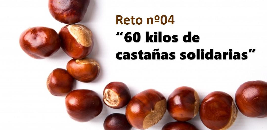 """Reto nº4. ESO y Bachillerato: """"60 kilos de castañas solidarias"""""""